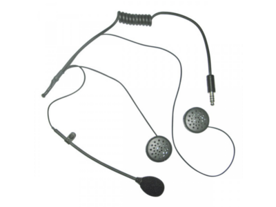 Microphone and headphones kit Sparco